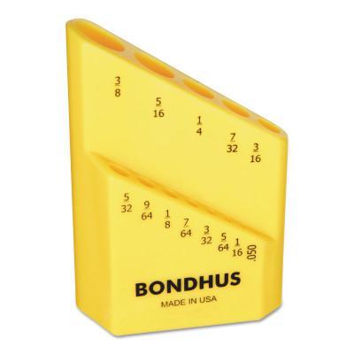 BONDHUS Bondhex Cases, Replacement Hex Key Case, Holds 13 Piece