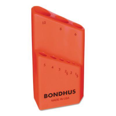 BONDHUS Bondhex Cases, Replacement Hex Key Case, Holds 9 Piece