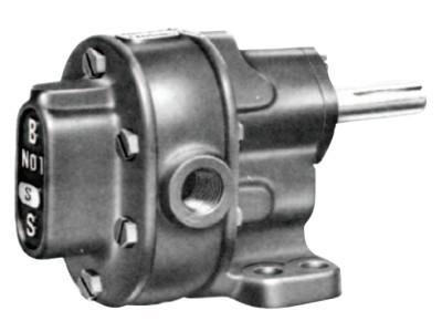 "BSM PUMP B-Series Pedestal Mount Gear Pumps, 3/8"", 4.6 gpm, 200 PSI, No Valve, CW/CCW"
