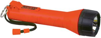 BRIGHT STAR Responder Series Submersible Flashlights, 3 C, Orange