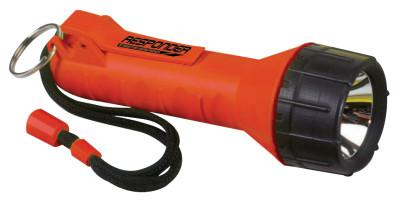 BRIGHT STAR Responder Series Submersible Flashlights, 2 C, Orange