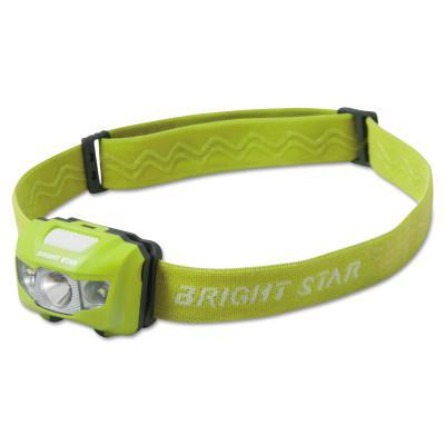 BRIGHT STAR VISION LED Headlamps, 3 AAA, 185 lumens, Green