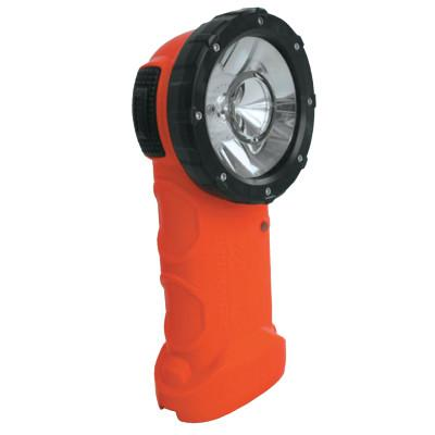 BRIGHT STAR Responder Right Angle LED Lights, 6 AA, Safety Orange
