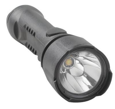 BRIGHT STAR Razor LED Flashlights, 3 AA, 125 lumens, Black