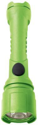 BRIGHT STAR Razor LED Flashlights, 3 AA, 125 lumens, Hi-Viz Lime Green