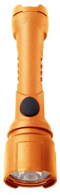 BRIGHT STAR Razor LED Flashlights, 3 AA, 125 lumens, Safety Orange