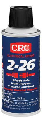 CRC 2-26 Multi-Purpose Precision Lubricants, 6 oz, Aerosol Can