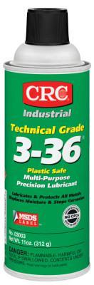 CRC Technical Grade 3-36 Multi-Purpose Precision Lubricants, Aerosol Can