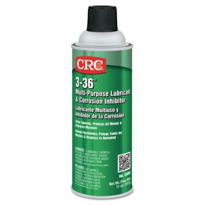 CRC 3-36 Multi-Purpose Lubricant & Corrosion Inhibitor, 16 oz Aerosol Can