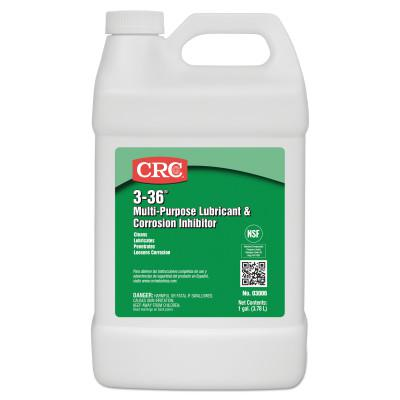 CRC 3-36 Multi-Purpose Lubricant & Corrosion Inhibitor, 1 Gallon Bottle