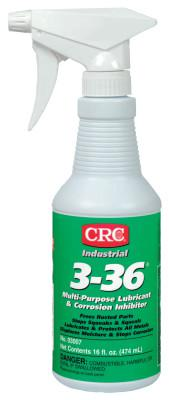 CRC 3-36 Multi-Purpose Lubricant & Corrosion Inhibitor, 16 oz Trigger Bottle