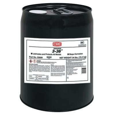 CRC 3-36 Multi-Purpose Lubricant & Corrosion Inhibitor, 5 Gallon Pail