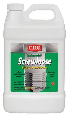 CRC Screwloose Super Penetrants, 1 gal, Bottle