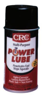 CRC Power Lube Multi-Purpose Lubricants, 12 oz, Aerosol Can