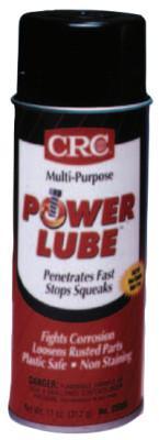 CRC Power Lube® Multi-Purpose Lubricant, 11 oz, Aerosol Can