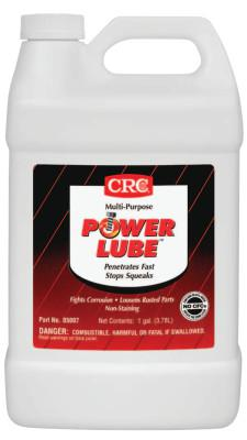 CRC Power Lube Multi-Purpose Lubricants, 1 gal, Pail, Amber