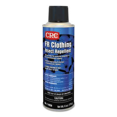 CRC FR Clothing Insect Repellents, 6 oz Aerosol Can, 12/case