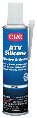 CRC RTV Silicone Adhesive/Sealants, 8 oz Pressurized Tube, White