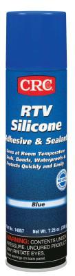 CRC RTV Silicone Adhesive/Sealants, 8 oz Pressurized Tube, Blue