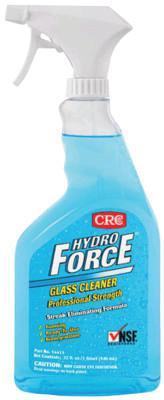 CRC HydroForce Glass Cleaners Professional Strength, 30 oz Trigger Bottle