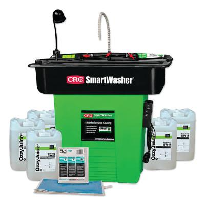 SMARTWASHER SmartWasher Bioremediating Mobile Parts Washer Kit, SW-823XE SuperSink