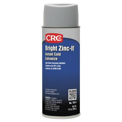 CRC Bright Zinc-It Instant Cold Galvanize, 16 oz Aerosol Can