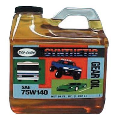 CRC Syn-Go Synthetic Gear Oils, 1/2 gal Bottle