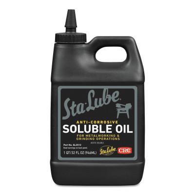 CRC Soluble Oils, Bottle, 1 qt
