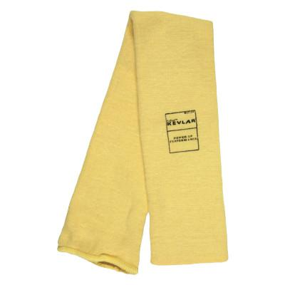 MEMPHIS GLOVE Kevlar Sleeves, 22 in Long, Elastic Closure, Universal, Yellow