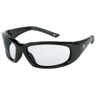 CREWS ForceFlex Next Generation Protective Eyewear, Clear Lens, Duramass Anti-Fog