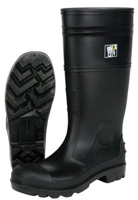 MEMPHIS GLOVE PVC Boot, Size 9, 16 in, Black
