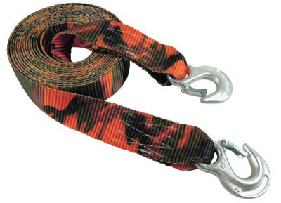 KEEPER Emergency Tow Straps 2 in W, 20 ft L