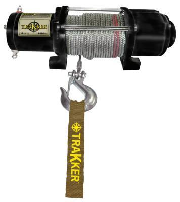 KEEPER Keeper Tracker ATV/UTV Series 12 Volt DC Electric Winches, 4,400 lb Load Cap.