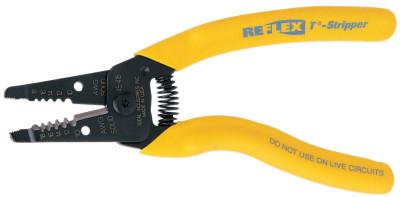 IDEAL INDUSTRIES Reflex Premium T-Strippers, 10-18 AWG, Yellow