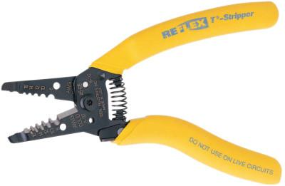 IDEAL INDUSTRIES Reflex Super T-Strippers, 8-16 AWG, Yellow