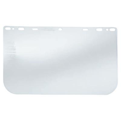 CREWS Regular Faceshields, Clear, PETG, 15.5 x 10 in