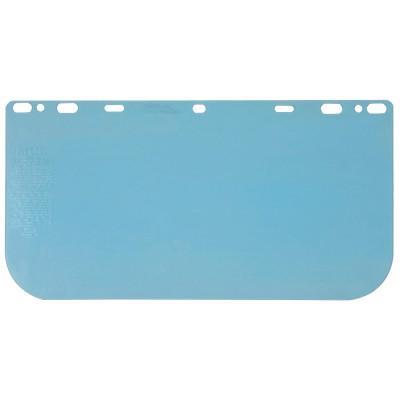 CREWS Regular Faceshields, Clear, Polycarbonate, 15 1/2 x 8 in