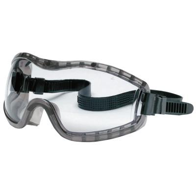 CREWS Stryker Safety Goggles, Anti-Fog, Clear Lens