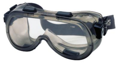 CREWS Verdict Goggles, Clear/Smoke, Antifog, Scratch Resistant, Elastic Strap