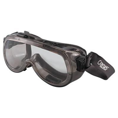 CREWS Verdict Goggles, Clear/Smoke, Antifog, Foam Lining, Elastic Strap