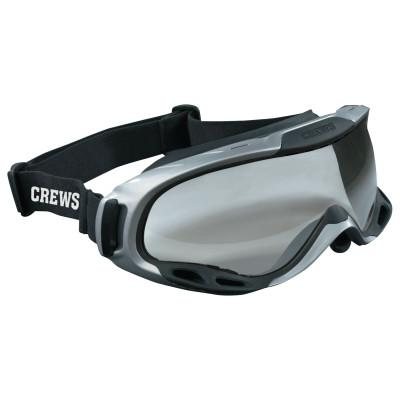 CREWS PGX1 Safety Goggles, Anti-Fog, Clear Lens