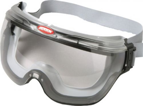KIMBERLY-CLARK PROFESSION V80 REVOLUTION Goggles, Clear/Black, Indirect Vent