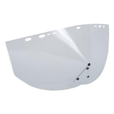 "JACKSON SAFETY Schedule ""B"" Visors Without Binding, Clear"
