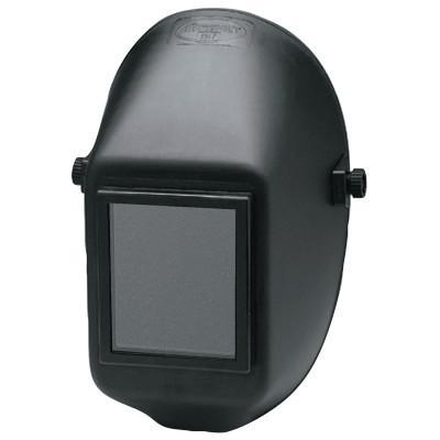 HUNTSMAN WH10 951P Passive Welding Helmet, Black, 951P, 4 1/2 in x 5 1/4 in