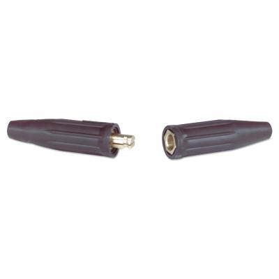 JACKSON SAFETY Uni-Trik Cable Connector, Double Dome-Nose Connection, 1/0-3/0 AWG Cap.
