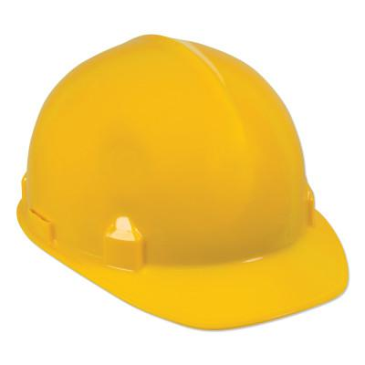 JACKSON SAFETY SC-6 Hard Hat, 4-point Ratchet, Front Brim Safety Cap, Yellow