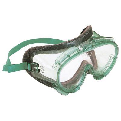 KIMBERLY-CLARK PROFESSION V80 MONOGOGGLE 211 Goggles, Clear/Green, Antifog, Foam Lining