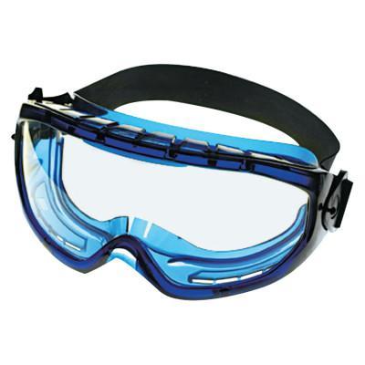 KIMBERLY-CLARK PROFESSION V80 MONOGOGGLE XTR Goggles, Clear/Blue, Indirect Ventilation, Antifog