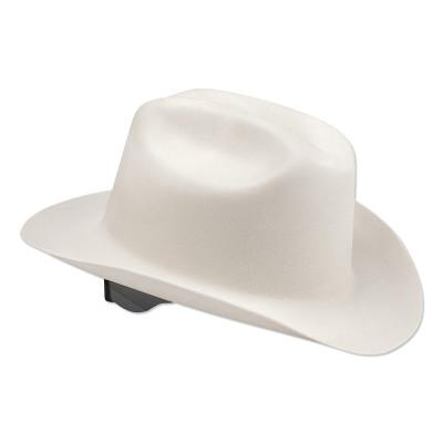 JACKSON SAFETY WESTERN OUTLAW Hard Hats, 4 Point Ratchet, White