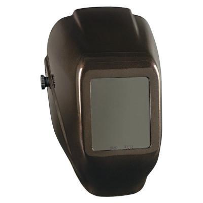 JACKSON SAFETY WH10 HLX 100 Passive Welding Helmet, Green; #10, Heavy Metal, 4 1/2 x 5 1/4